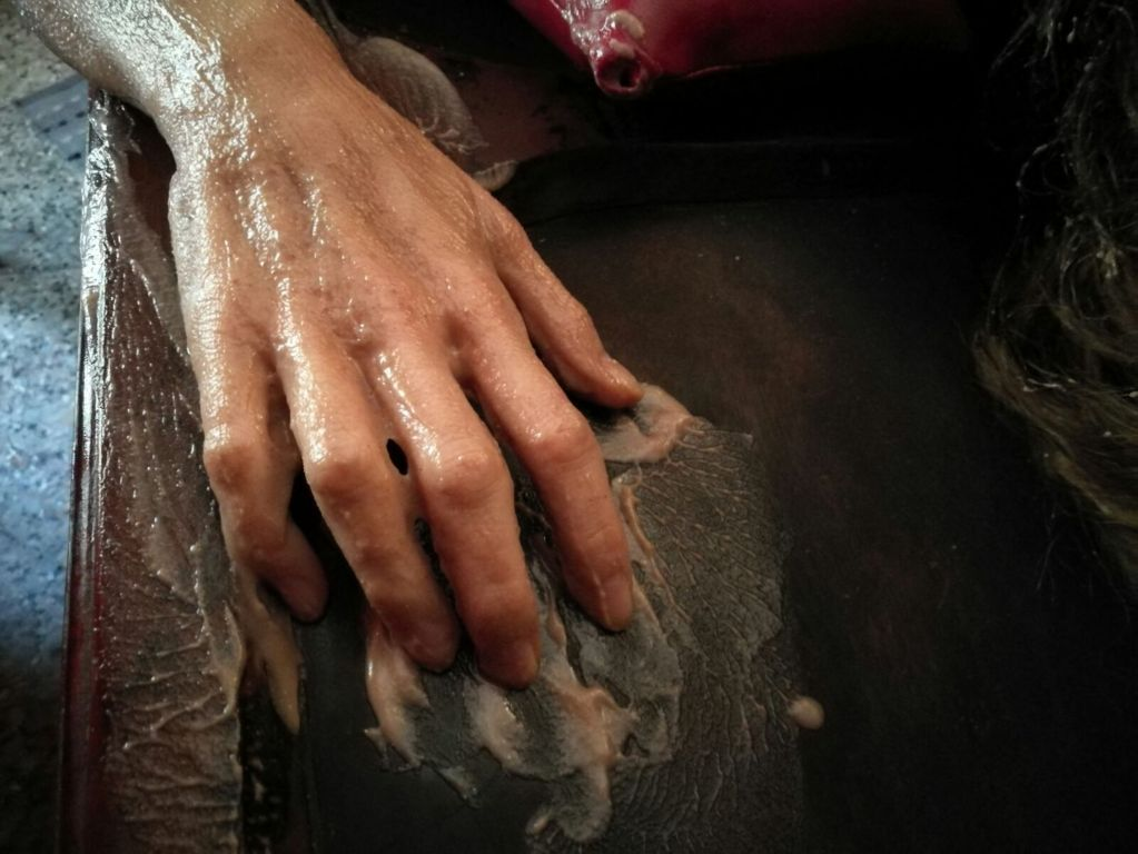 massaggio carne di capra